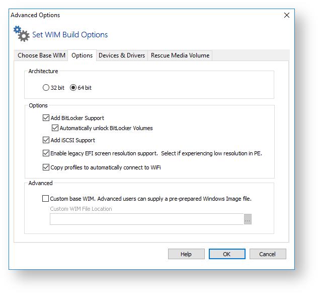 Macrium Rescue Media Builder - KnowledgeBase v7 2 - Macrium