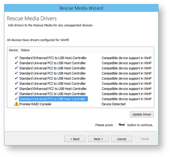 Adding device drivers to Windows PE - KnowledgeBase - Macrium