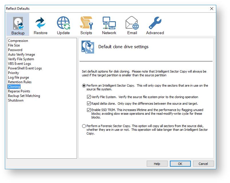 Macrium reflect default settings knowledgebase macrium - Rebuild file allocation table ...